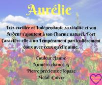 Aurélie (1)