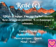 René (e)